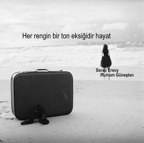 ''Her rengin bir ton eksiğidir hayat'' Serap Ersoy (Ruhum Güneşten)    www.serapersoy.com