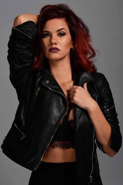 glamour fashion photography ootd outfit of the day studio gloves red hair makeup choreographer