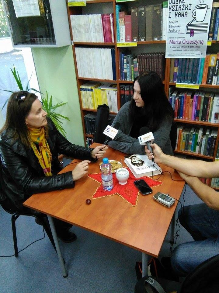 Spotkanie autorskie w Sieradzu 02.10.2015 r. #Cierplikowski #Antoine de Paris #coiffeur #fryzjer