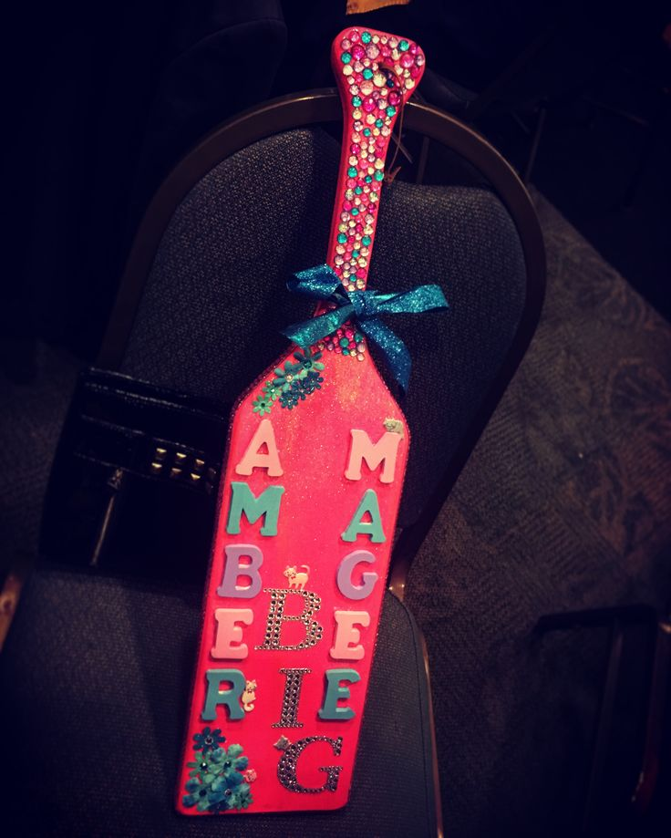 The paddle I made my big #AKPsi#Paddle##Fraternity