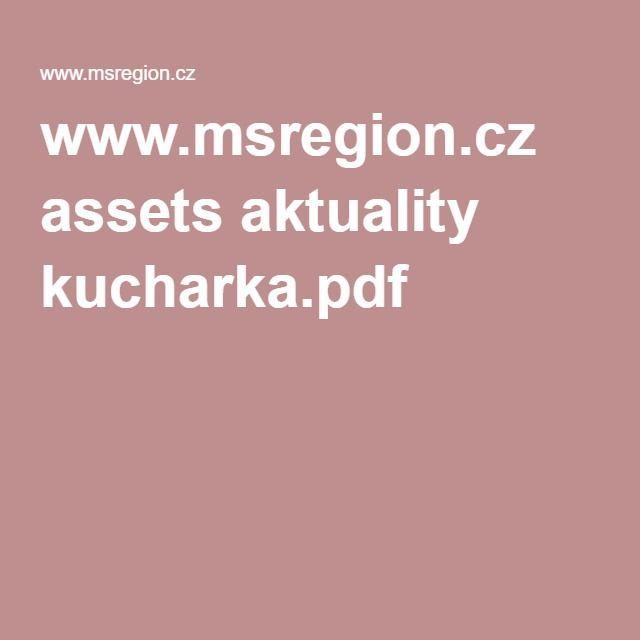 www.msregion.cz assets aktuality kucharka.pdf