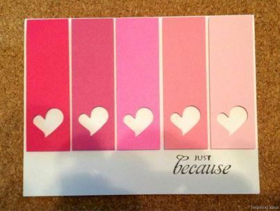 7 best Homemade Valentine Cards images on Pinterest   Homemade ...