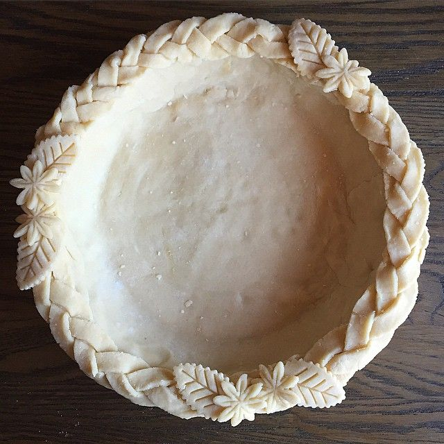 Time to get back to pie making. Had to trying out @cooksillustrated Fool-proof pie crust made with…