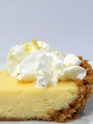 Creamy Dreamy Lemon Pie. Oh, how I love a creamy lemon pie.