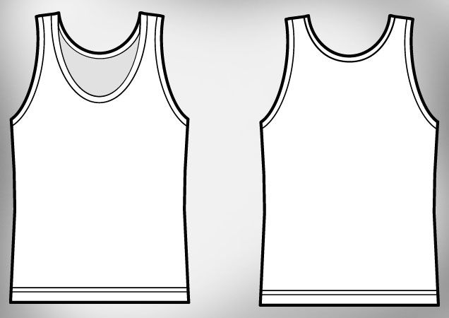 Free download http www t shirt for Vest top template
