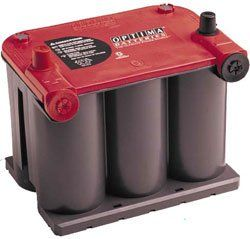 Optima 75/25 Red Top Battery Optima Model 75/25 Red Top Battery. Optima Red Top batteries offer exceptionally high peak discharge capability for fast engine turnover the instant you hit the ignition.. Hot and cold weather performance is enhanced by extremely low internal resistance. Optima Red Top battery boasts a shock and vibration resistance rating 14x higher than conventional batteries.. Optim... #Blue_Grass_Batteries #Automotive_Parts_and_Accessories
