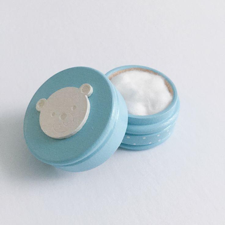 Boîte La Fée des des dents / Ma Première dent / Ma Première mèche - Bleue Disponible sur www.MaPetiteFabrique.ca