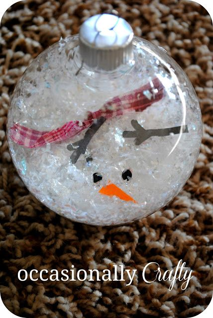 """Melted Snowman Ornament """"We wanted to send you a snowman from Arizona, but..."""""""