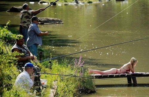 bikini fishing | Tiki Humor