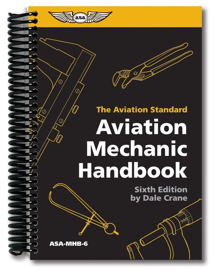 Aviation Mechanic Handbook. Handy toolbox-size reference for professionals and hobbyists. Nonabrasive spiral-bound book provides conversions, formulas, densities, solid state electronics, and more.