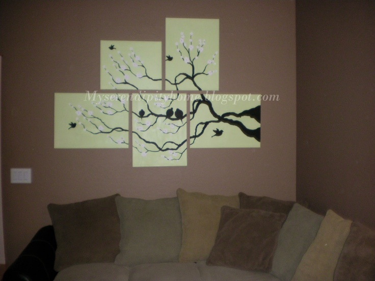 Looking Back: Living Room Painting