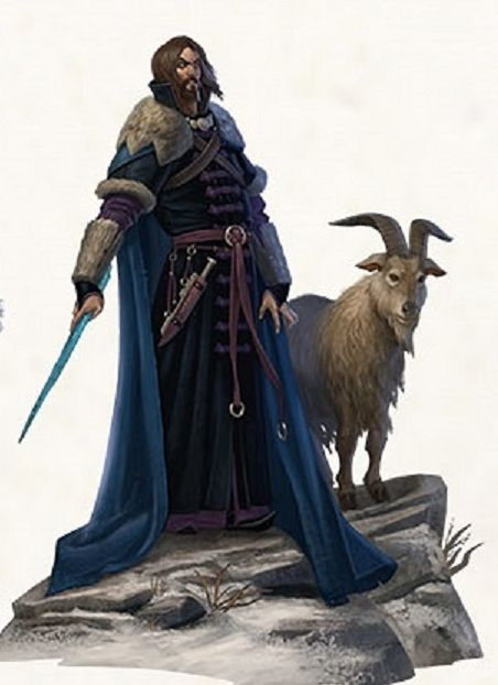The Goat and his sidekick | Magic Users for D&D ...