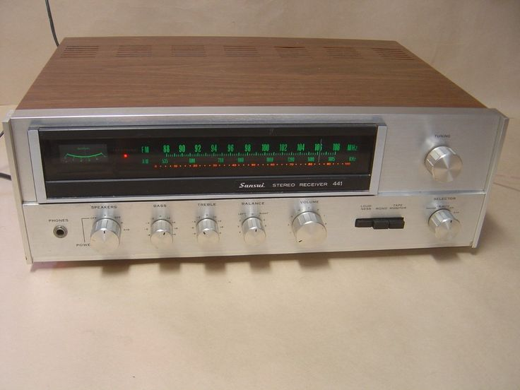 Sansui 441 Receiver Amplifier | eBay