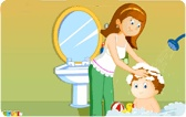 Personal hygiene video for kids