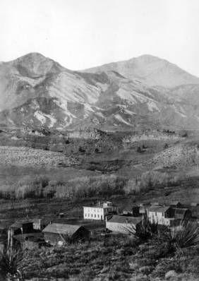 Colorado City, (where Colorado Springs is now) was the capital of the Colorado territory - 1860