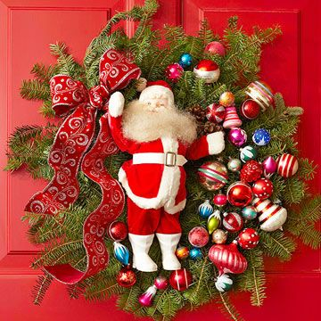 15 Best Images About Beautiful Christmas Wreaths On