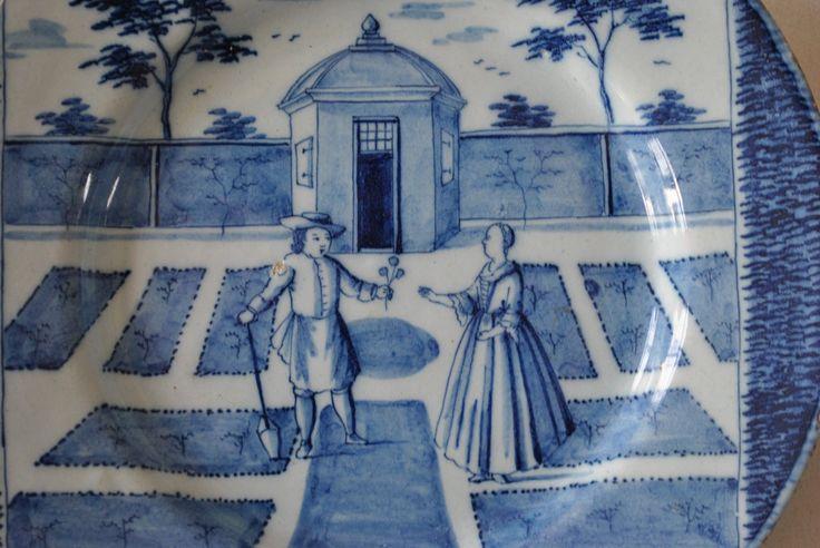 """""""Les mois de l'année"""" en faïence de Delft vers 1780 -"""