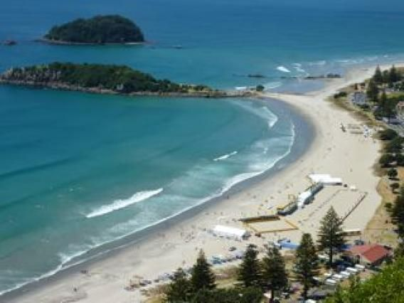 Main Beach, Mt Maunganui. Photo by Liz Finn
