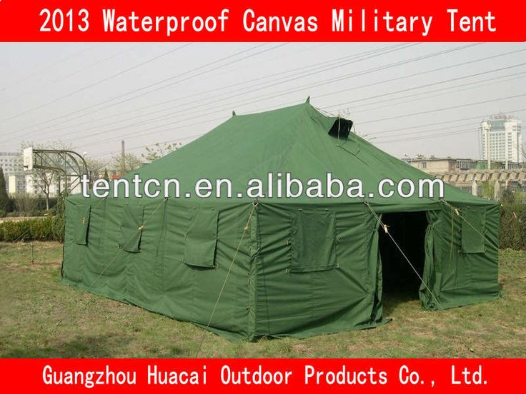 Waterproof Canvas Military Tent $420~$480