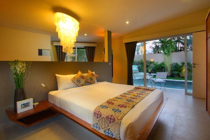 Unik Villa, in Brawa Bali, master bedroom