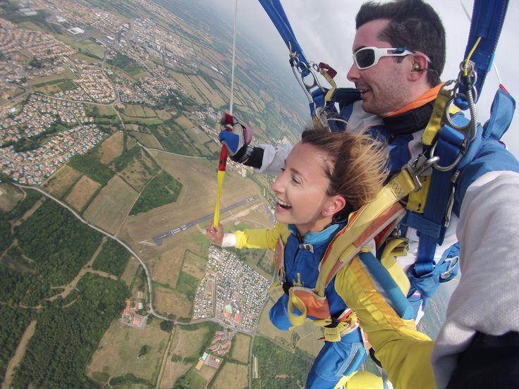 #parachutisme #vendee #loisir