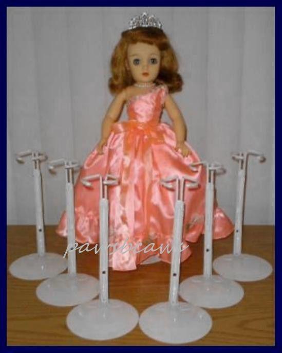 6 KAISER Doll Stands for Miss Revlon  Madame Alexander CISSY Dollikins #Kaiser…