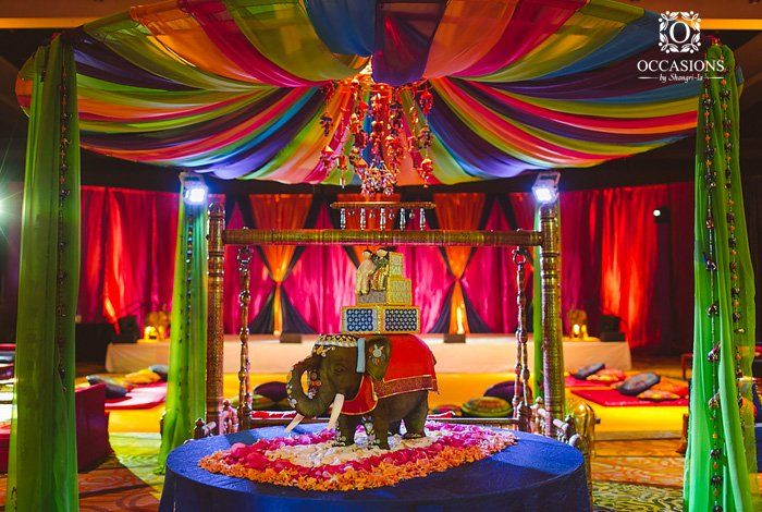 Event Decor By Occasions By Shangri La Rajasthani Themed