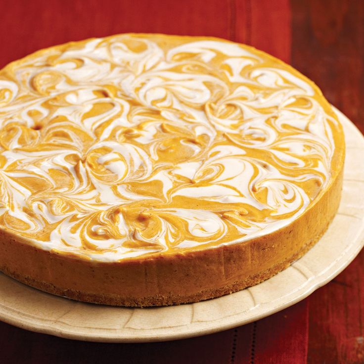 Bedste 25 Pumpkin Swirl Cheesecake Idéer på Pinterest-6642