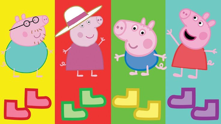 Baby Learn Colors Wrong Dress Peppa Pig Baby Finger Family Song and Lear...
