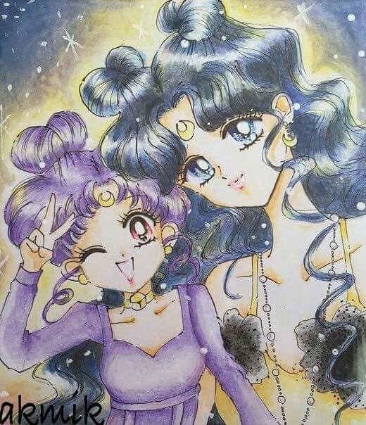Luna & Diana    Sailor Moon