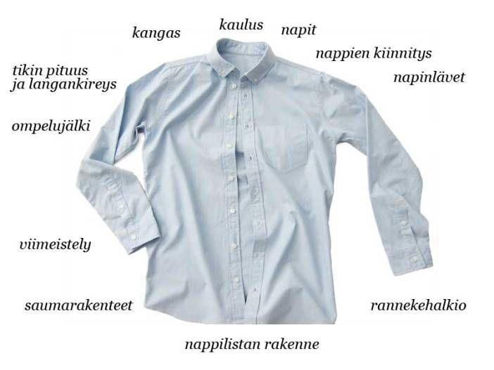 Rinna Saramäen blogista löytyy paljon tietoa laadukkaan vaatteen tunnistamiseen ja kestäviin vaatevalintoihin.