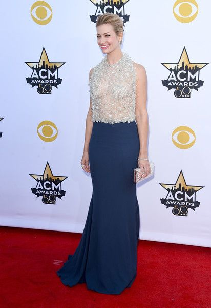 Beth Behrs Photos - 50th Academy Of Country Music Awards - Arrivals - Zimbio
