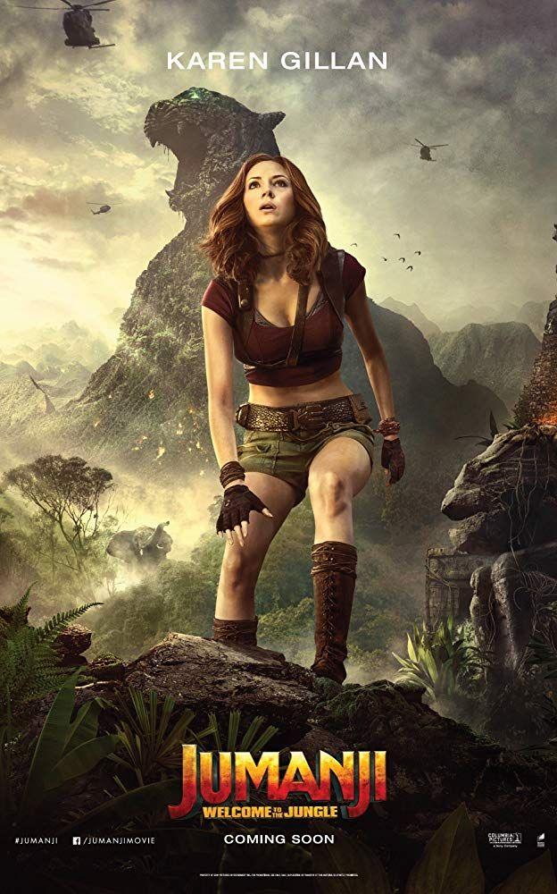 Karen Gillan In Jumanji Welcome To The Jungle 2017 Welcome To The Jungle Karen Gillan Full Movies Online Free