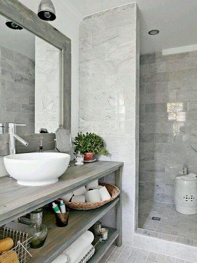 yeni banyo fikirleri tasarim dekorasyon bej gri siyah mavi fayans seramik dogal tas kaplama dus kabin dolap (5)