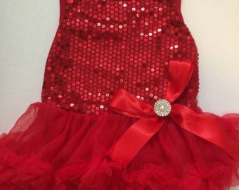 SALE PRICE Baby Christmas DressToddler Christmas by OLODesigns