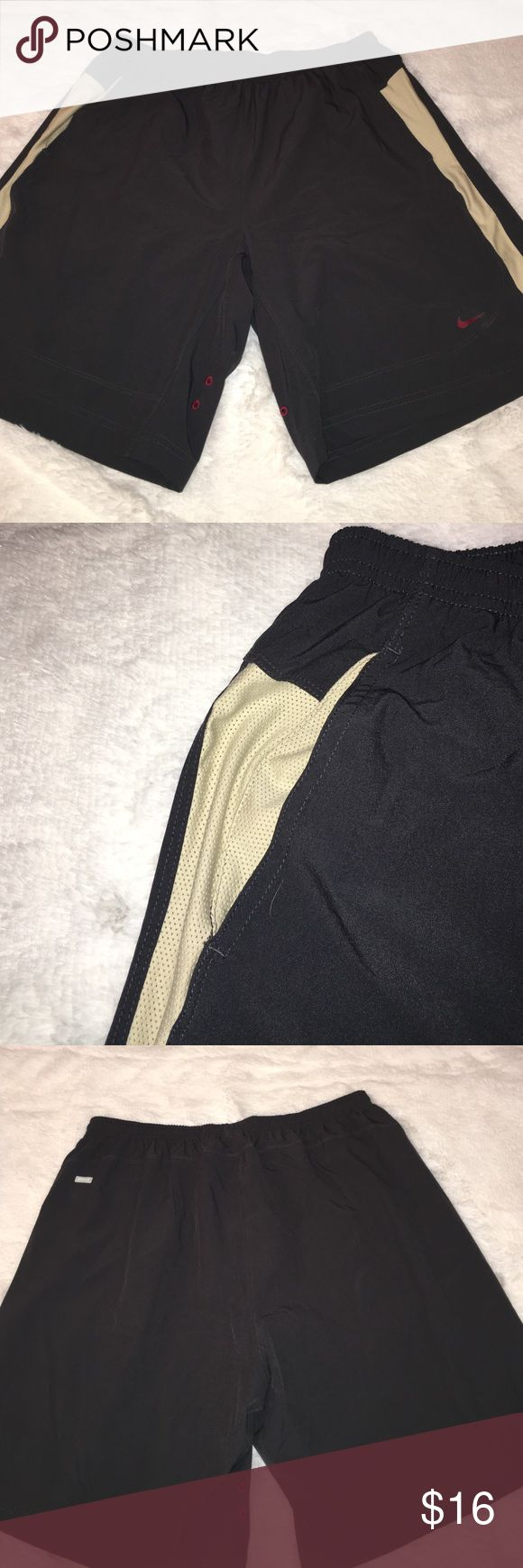 Men's Nike Dri-fit shorts Gray Nike Dri-fit. Shorts have Drawstring and 2 side pockets. Excellent condition.(#2bin) Nike Shorts Athletic