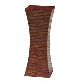 Wayborn Furniture Chow 36-In Brown Indoor Square Wood Plant Stand 5665