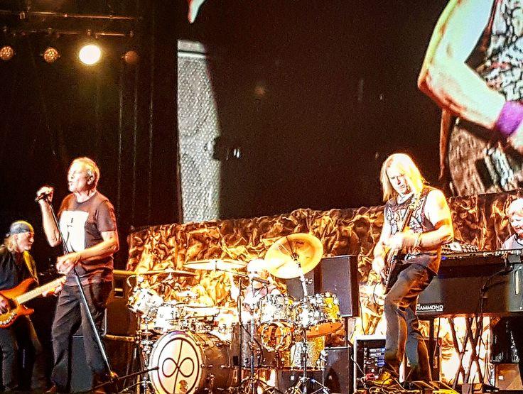 The amazing Deep Purple rocking everyone's socks off last night in Bucharest!