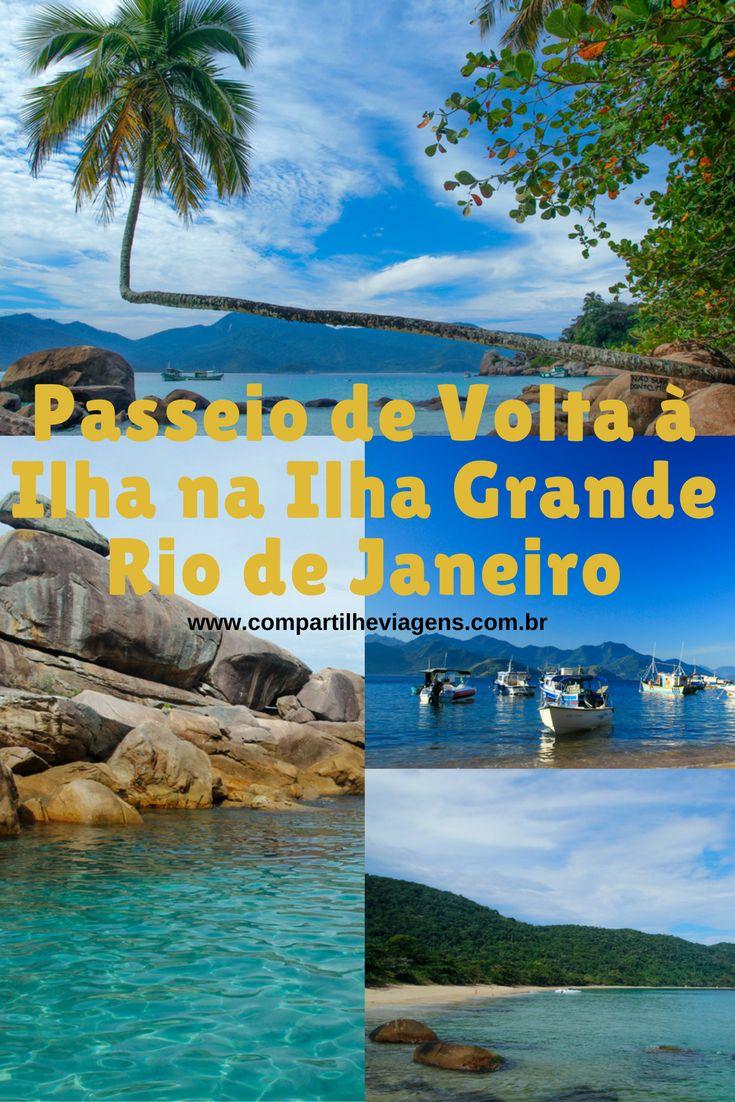 No passeio de lancha de volta à ilha é possível conhecer algumas das praias principais e ter um bom panorama da Ilha Grande-RJ. O passeio é belíssimo e inclui a famosa a praia do Aventureiro, famosa pelo seu coqueiro torto.