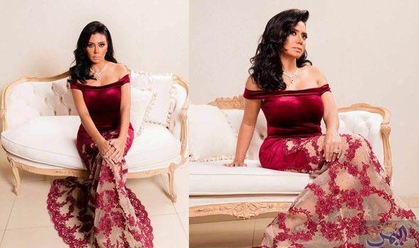 رانيا يوسف تتألق في فستان أحمر مميز بمناسبة عيد الحب Formal Dresses Formal Dresses Long Dresses