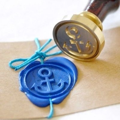 Anchor Wax Seal Stamp