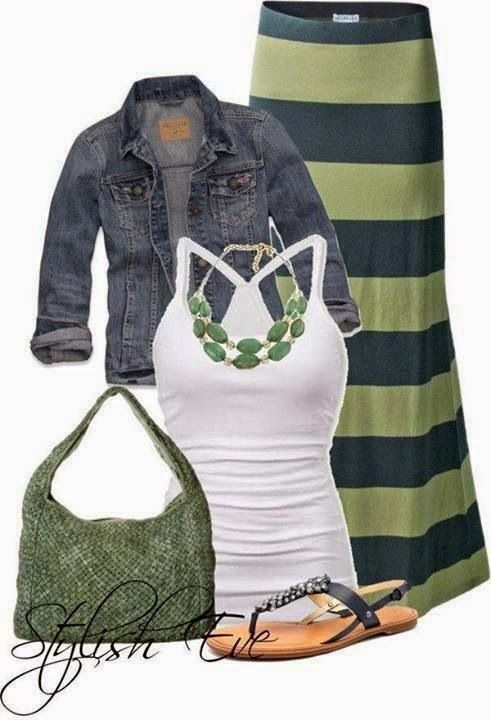 Stitch Fix stylist: Love this!  Already have the jacket, and maybe some universal sandals that would work.  Weekend or work, this would be good.