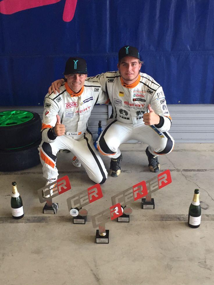 Enhorabuena a Jordi Oriola y Álvaro Fontes que se proclamaron campeones de la primera carrera del #CampeonatodeEspañadeResistencia en el  Circuito de Los Arcos #STYGIUS #StygiusMotor