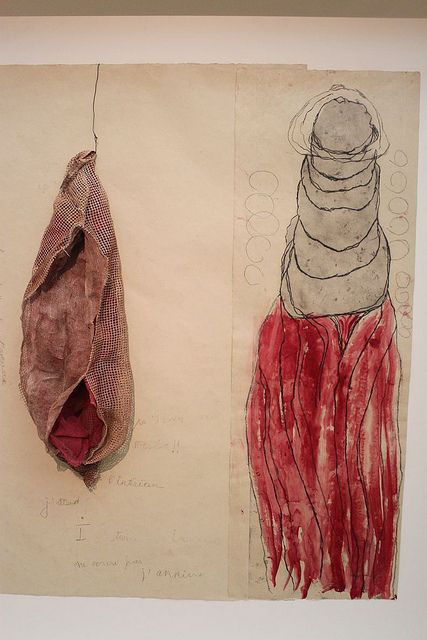 Louise Bourgeois, La Maladie de L'amour (#2), 2008 – etching, watercolor…