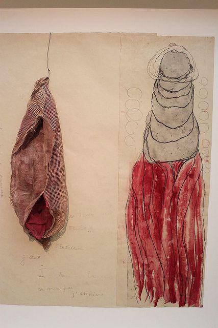 Louise Bourgeois, La Maladie de L'amour (#2), 2008 – etching, watercolor…