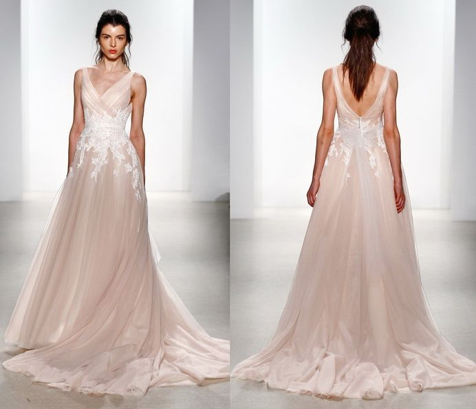 21 best naeem khan images on Pinterest | Bridal dresses, Bridal gown ...