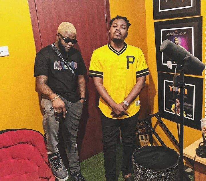 Checkout the adorable photo of Skales with Ybnl boss Olamide
