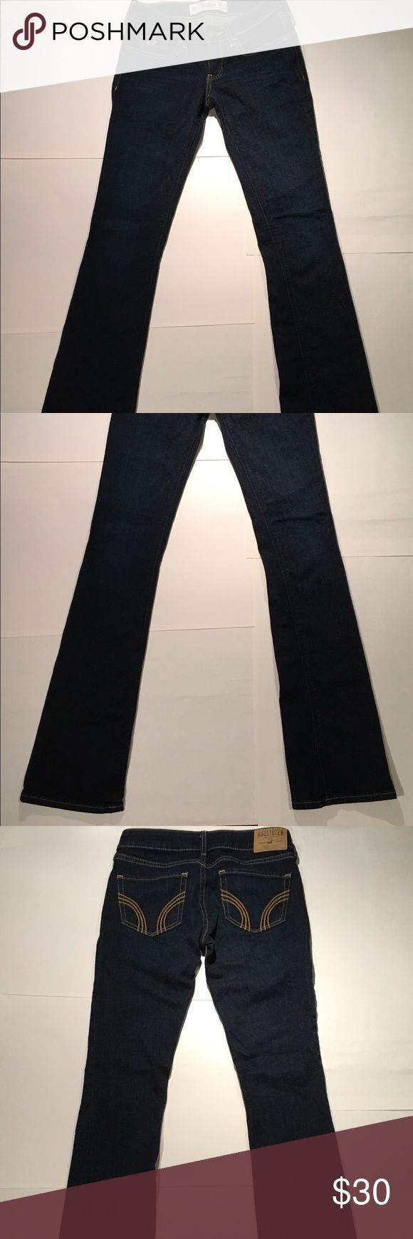 Hollister Boot Cut Jeans Hollister boot cut jeans Size 00R / W23 / L33 98% cotton 2% elastane Hollister Jeans Boot Cut