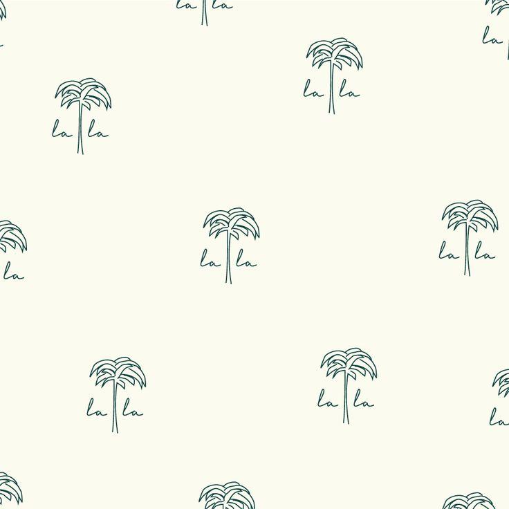 La La Local Palm Tree Icon by Little Trailer Studio
