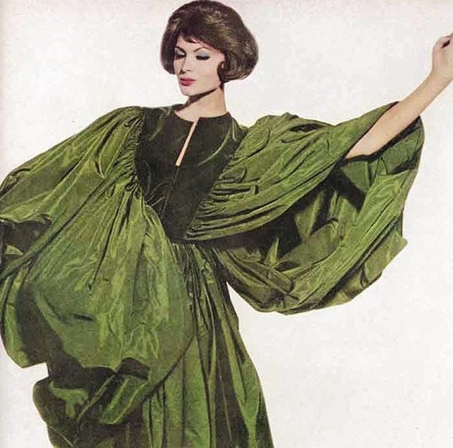 Johanna Ortiz in Madame Gres by Irving Penn 1960